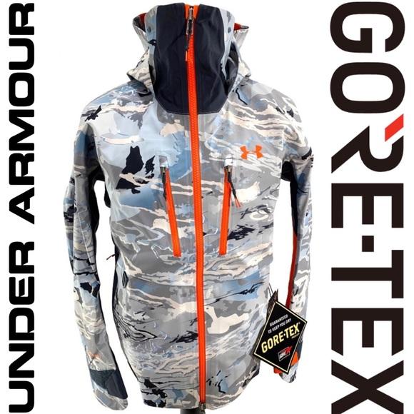 98227aa4bc269 Under Armour Jackets & Coats | Ridge Reaper Hydro Goretex Jacket ...